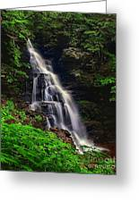 Water In Motion Greeting Card