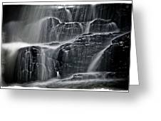 Water Over Wahconah Falls  Greeting Card