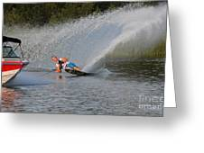 Water Skiing 15 Greeting Card