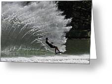Water Skiing 20 Greeting Card