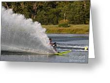 Water Skiing 6 Greeting Card