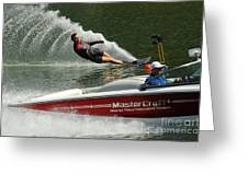 Water Skiing Magic Of Water 26 Greeting Card