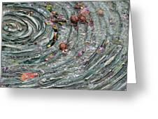 Water Spiral  Greeting Card