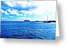 Water View Greeting Card