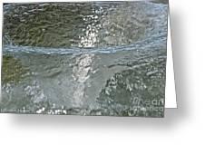 Water Wall Greeting Card