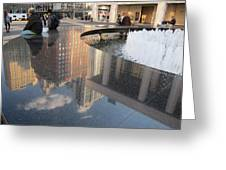 Lincoln Center Reflections Greeting Card