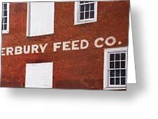 Waterbury Feed Greeting Card