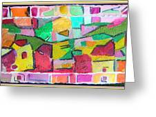 Watercolor Jazz Greeting Card