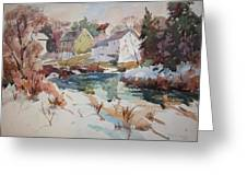 Watercolor Greeting Card by Peter Spataro