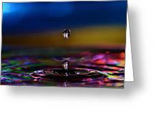 Waterdrop Greeting Card