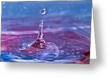 Waterdrop11 Greeting Card