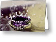 Waterdrop12 Greeting Card
