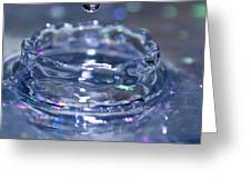 Waterdrop15 Greeting Card