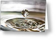 Waterdrop5 Greeting Card