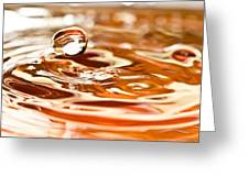 Waterdrop8 Greeting Card