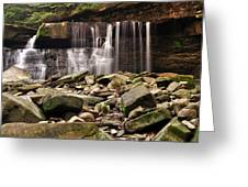 Waterfall #2 Greeting Card