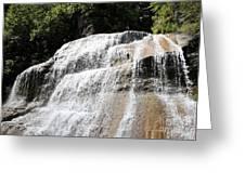 Waterfall At Treman State Park Ny Greeting Card