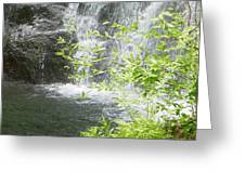 Waterfall In Vermont Greeting Card
