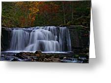 Waterfall Svitan Greeting Card