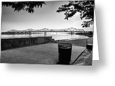 Waterfront Park V Greeting Card