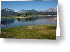 Waters Lead To Lake Tahoe Greeting Card