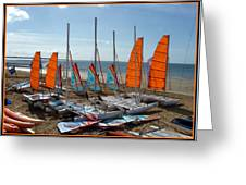 Watersports In La Baule Greeting Card