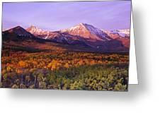 Waterton Lakes National Park, Alberta Greeting Card