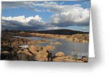 Watson Lake 3  Greeting Card