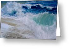 Wave Dance Greeting Card