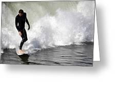Wave Master Greeting Card