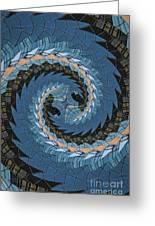 Wave Mosaic. Greeting Card