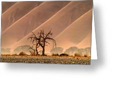 Wave Tree Greeting Card