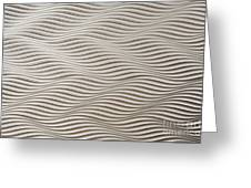 Waves And Stripes Background Greeting Card