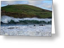 Waves In Beenbane Greeting Card