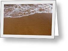 Waves Triptych Greeting Card