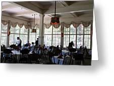 Wawona Dining Room Greeting Card