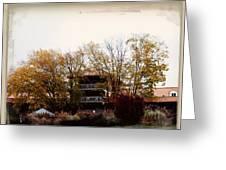 Waynesville Inn And Golf Resort Greeting Card