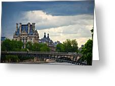 Weather In Paris Greeting Card