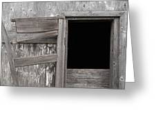 Weathered Granary 3 Greeting Card
