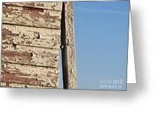 Weathered South Barn Wall Greeting Card