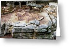 Weathered Stone Greeting Card