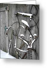 Weathered Tools Greeting Card
