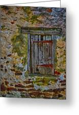 Weathered Vibrancy Greeting Card