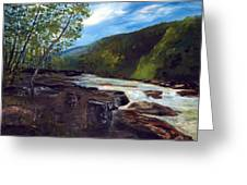Webster Springs Stream Greeting Card