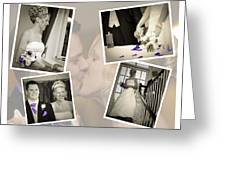 Wedding Album Page - Fine Art Greeting Card