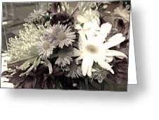 Wedding Bowquet Greeting Card