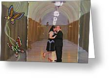 Wedding Portrait Greeting Card