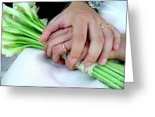 Wedding Rings Greeting Card