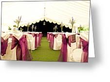 Wedding Venue Greeting Card