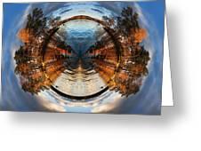Wee Lake Vuoksa Twin Islands Greeting Card